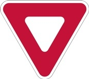 RA Series Yield Sign - Regulatory Signage Solutions Peterborough by B M R  Mfg  Inc