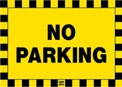 No Parking Sign Board - Signage Solutions Belleville by B M R  Mfg  Inc