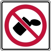 RC Series No Littering - Regulatory Signage Solutions Trent Hills by B M R  Mfg Inc
