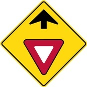 WB Series Yield Ahead - Regulatory Sign Board Manufacturing Peterborough by B M R  Mfg Inc